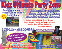 Kidz Ultimate Party Zone